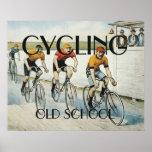 Escuela vieja de ciclo SUPERIOR Poster