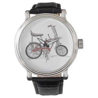 Escuela vieja de Schwinn de la bici de la Reloj