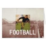 Escuela vieja del fútbol tarjeton