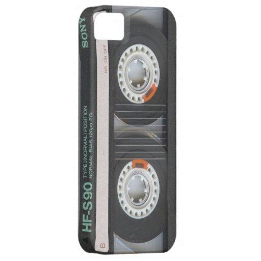 escuela vieja el an o 80 de la caja retra negra de iPhone 5 Case-Mate protectores
