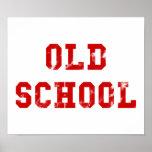 Escuela vieja impresiones