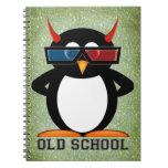 Escuela vieja malvada de Penguin™ Libreta