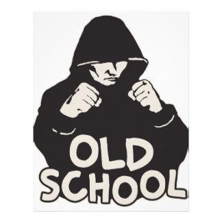 Escuela vieja plantillas de membrete
