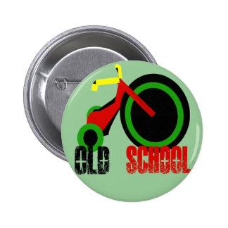 Escuela vieja chapa redonda 5 cm