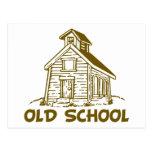Escuela vieja postal