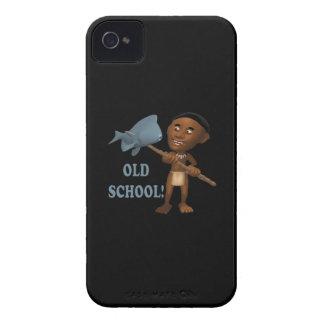 Escuela vieja que pesca 3 iPhone 4 Case-Mate cárcasas