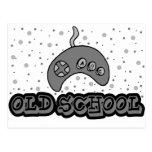 Escuela vieja Sega Tarjeta Postal