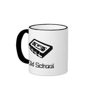 Escuela vieja taza a dos colores