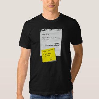 Escuela y religión camisas