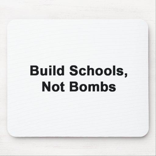 Escuelas de la estructura, no bombas alfombrilla de raton