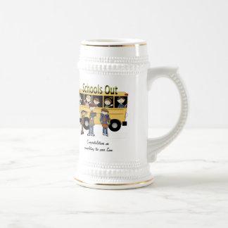 Escuelas hacia fuera tazas de café