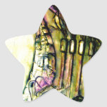 esculpir la tierra calcomanías forma de estrellaes