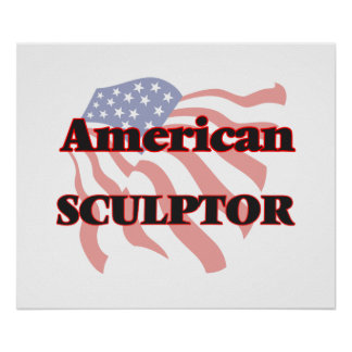 Escultor americano póster