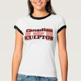 Escultor canadiense playeras