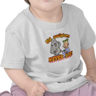 Escultores Camisetas
