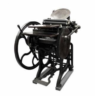 escultura 1888 de la foto de la prensa de copiar fotoescultura vertical