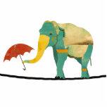 Escultura agraciada del elefante esculturas fotográficas