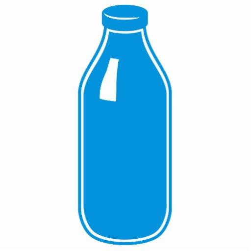 Escultura azul de la foto de la leche escultura fotográfica