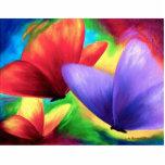 Escultura colorida de la foto de la pintura de la  escultura fotográfica