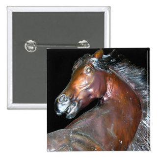 Escultura de bronce del caballo