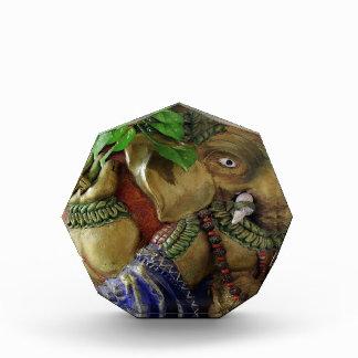 Escultura de cobre: Elefante Ganesh del vintage de