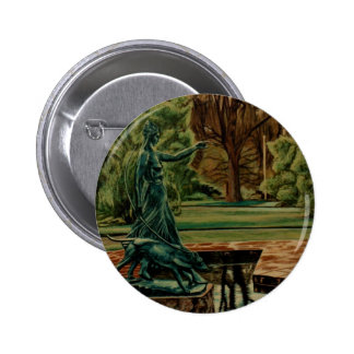 Escultura de Diana Artemis en jardines Pins
