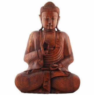 Escultura de enseñanza de Buda Fotoescultura Vertical