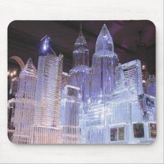 Escultura de hielo tapete de raton