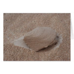 Escultura de la arena de la naturaleza tarjeta