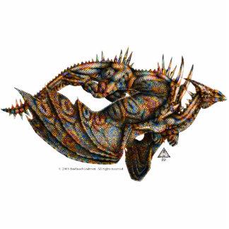 Escultura de la foto de Dragongiant (color) Fotoescultura Vertical