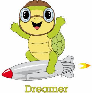 Escultura de la foto de Dreamer™ de la tortuga Fotoescultura Vertical
