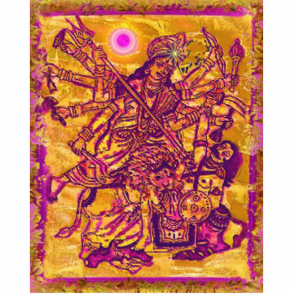 Escultura de la foto de Durga de la diosa Escultura Fotográfica