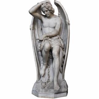 Escultura de la foto de Guillaume Geefs Lucifer Fotoescultura Vertical