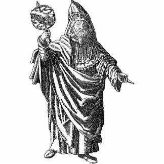 Escultura de la foto de Hermes Trismegistus Fotoescultura Vertical