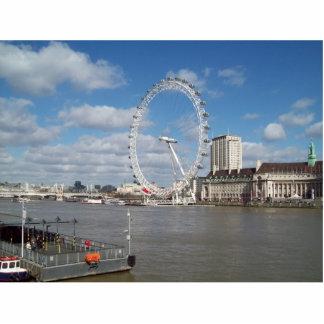 Escultura de la foto de Inglaterra del ojo de Lond Fotoescultura Vertical