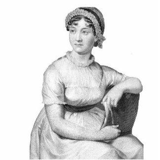 Escultura de la foto de Jane Austen Fotoescultura Vertical