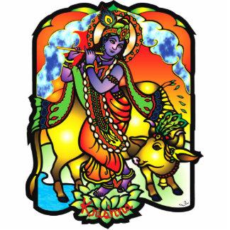 Escultura de la foto de Krishna Fotoescultura Vertical