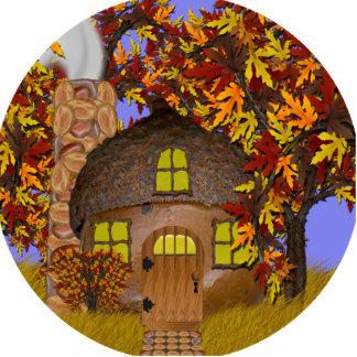 Escultura de la foto de la cabaña del Faery de la  Escultura Fotografica