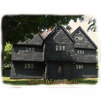 Escultura de la foto de la casa de la bruja de Sal Escultura Fotografica