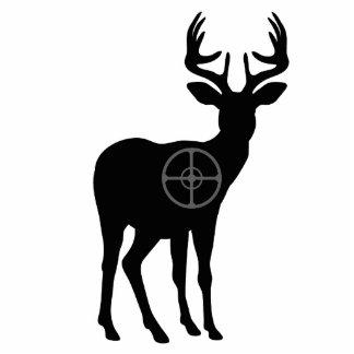 Escultura de la foto de la caza de los ciervos esculturas fotograficas