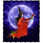 Escultura de la foto de la luna de la bruja escultura fotografica