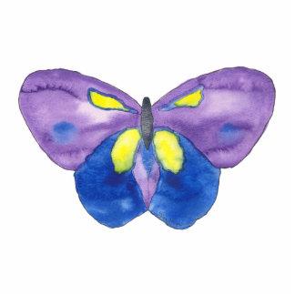Escultura de la foto de la mariposa fotoescultura vertical