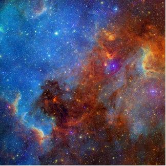 Escultura de la foto de la nebulosa de la cola del fotoescultura vertical