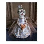 Escultura de la foto de la novia de la calabaza de esculturas fotográficas