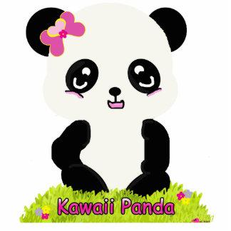 Escultura de la foto de la panda de Kawaii Esculturas Fotograficas