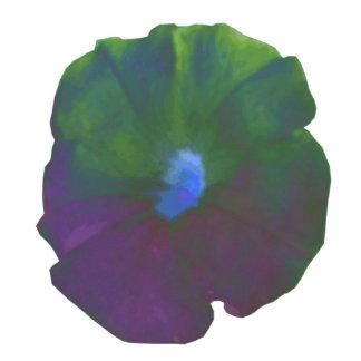 Escultura de la foto de la petunia del arco iris escultura fotografica
