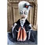 Escultura de la foto de la reina de Halloween Esculturas Fotograficas