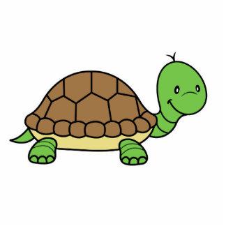Escultura de la foto de la tortuga fotoescultura vertical