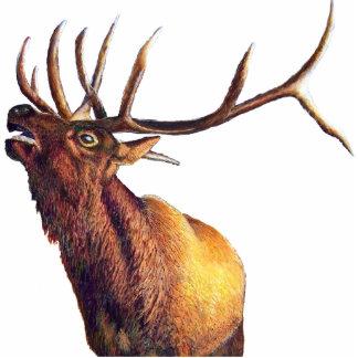 Escultura de la foto de los alces de Bull Escultura Fotografica