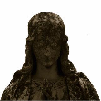 escultura de la foto de los ojos fotoescultura vertical